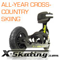 All-Year Cross-Country-Skiing with Skike and Powerslide