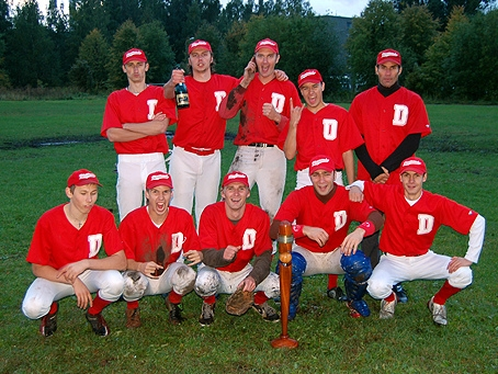 Riga Diamonds - Latvia Baseball Champions 2007