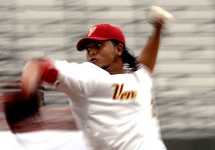 Venezuela pitching at Baseball World Cup 07