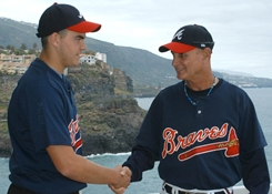 Ruben Rijkhof, Tenerife Marlins to Atlanta Braves