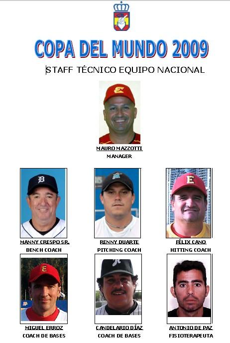 Coaching Staff Spanish National Team