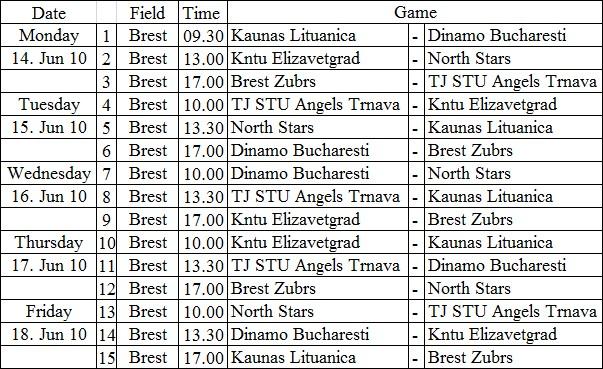 Brest_Schedule