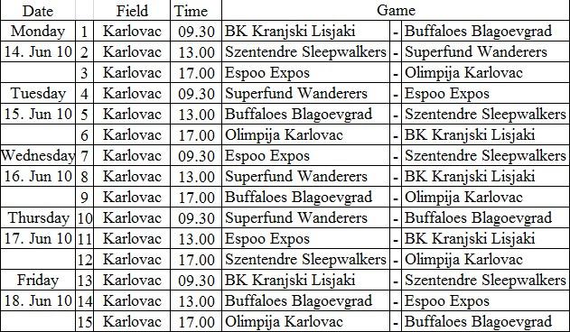 Schedule_Karlovac