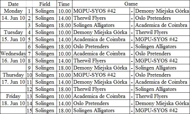 Solingen_Schedule