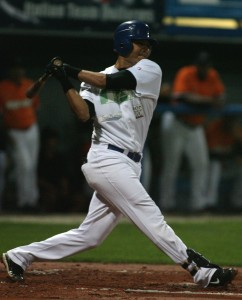 Carlos Duran tied the contest for San Marino with a Single in the 3rd