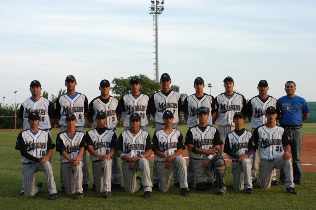Tenerife Marlins Puerto Cruz win 2010 Junior Championship in Spanish Baseball