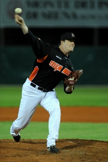 Jim Brower pitched a no-hitter in his first start for Rimini