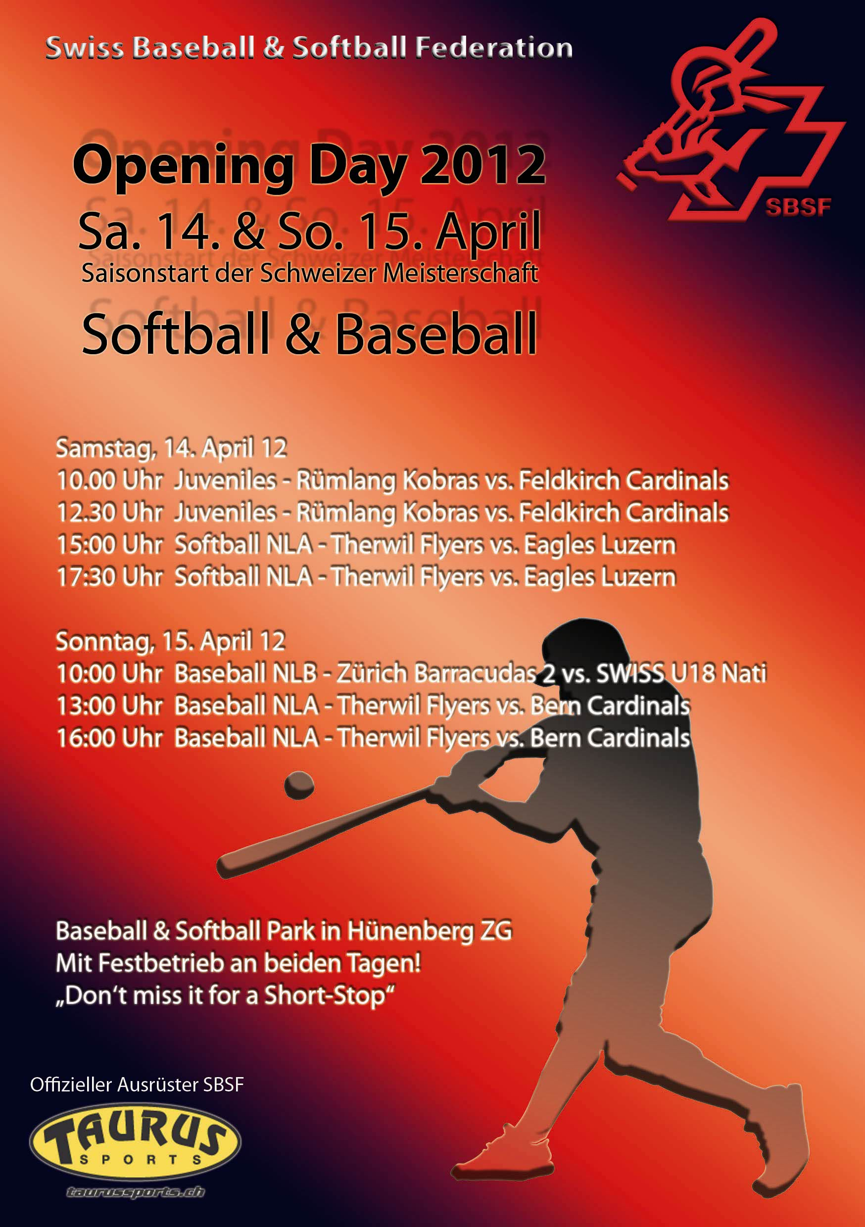 preview swiss opening day in hünenberg news swiss baseball