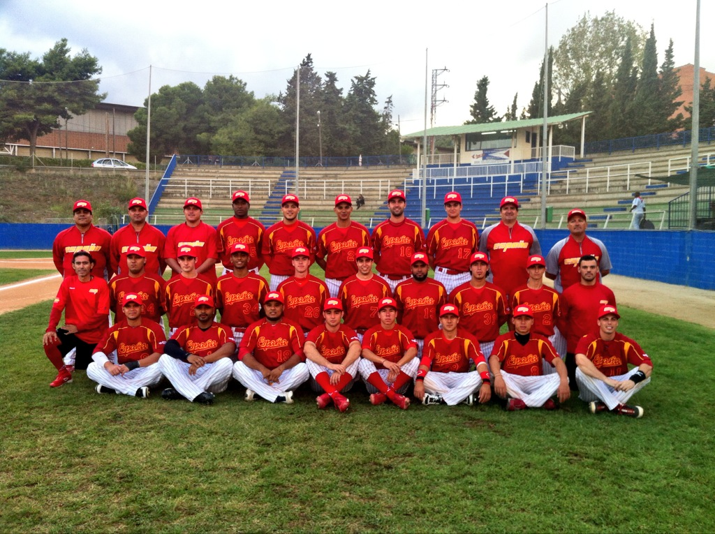 Spanish National Team With Instructional League Style Training Camp
