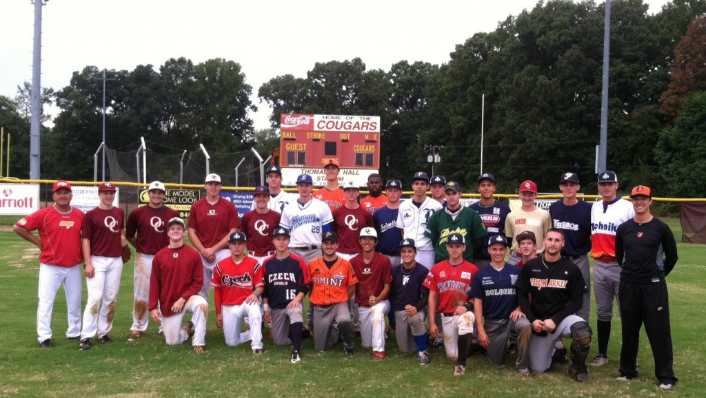 2014 College Showcase - Scrimmage game vs. Oakton H.S. in Virginia