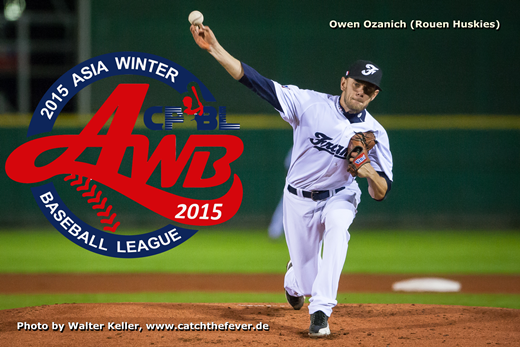 Owen in AWBL: Team Europe arrives for Asia Winter Baseball League