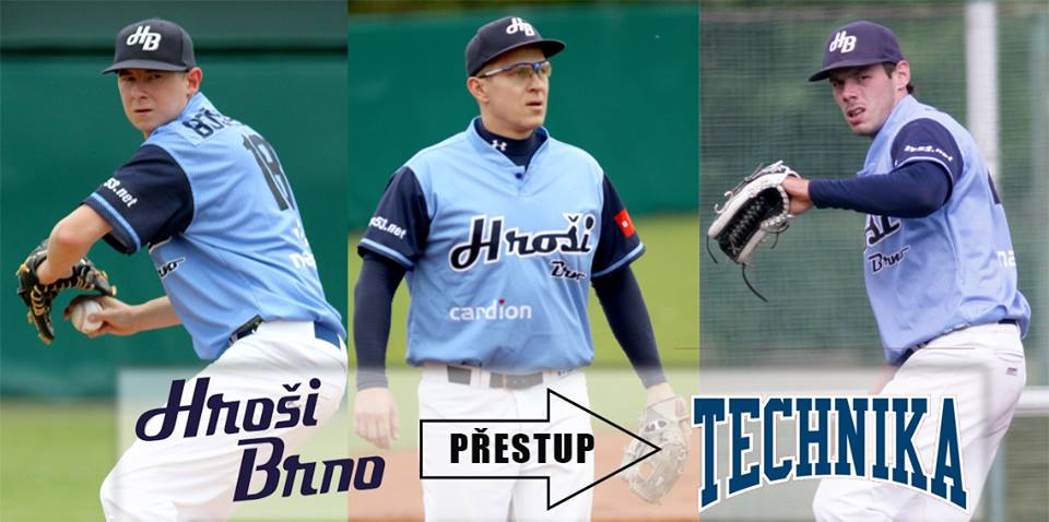 Jan Jablonka, Milan Vystrcil and Marek Bosansky leave Hrosi for Technika