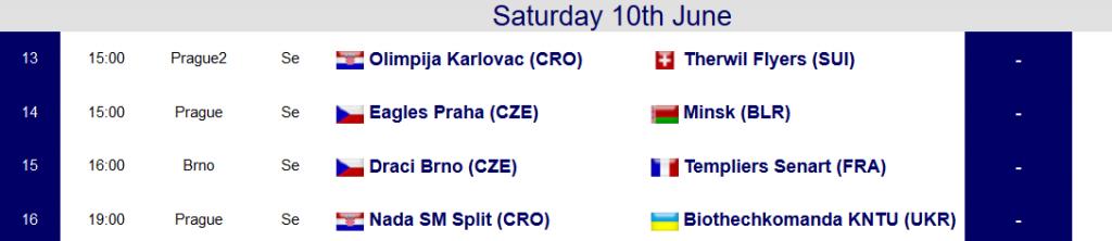 Schedule CEB day 4