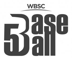 WBSC Logo 5 on 5