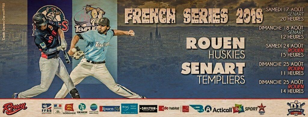 Afbeeldingsresultaat voor French Series 2019 baseball